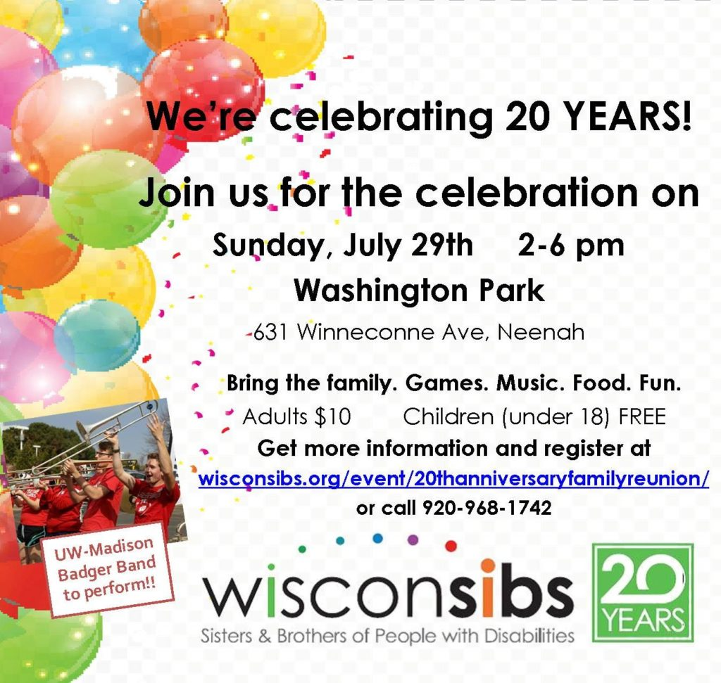 Wisconsibs 20th Anniversary Celebration -07-29-2018